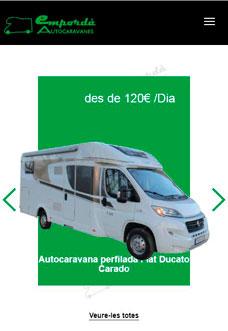 Lloguer Autocaravanes Empordà (Girona – Costa Brava)