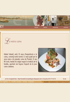 EL ROSER Restaurant in L'Escala