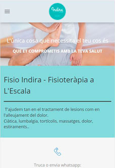 Physio Indira – Physiotherapy & Osteopathy in L'Escala
