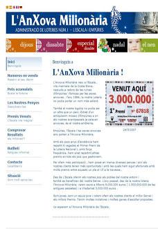 Lottery in L'Escala – L'ANXOVA MILIONARIA