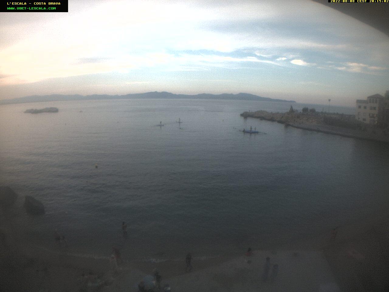 Webcam Plage Vieille Ville – L'Escala